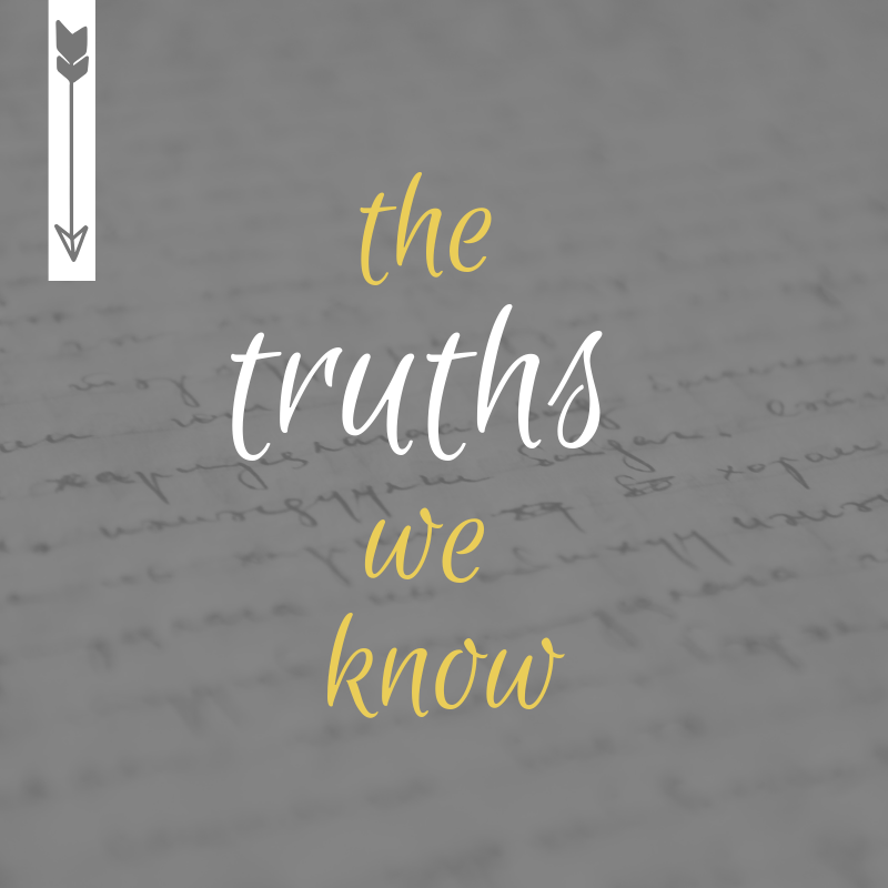 the truths we know graphic